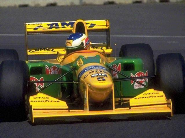 Benetton, equipe histórica da Formula 1 de 1993 by schummy.narod.ru